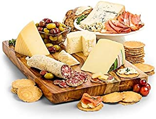 GiftTree Italian Cheese and Charcuterie Gift Basket   Variety of Italian Meats with Gourmet Cheeses and Crackers   Great for Birthdays, Holidays, Christmas or Any Occasion