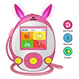 Wiwoo Bluetooth MP3 Player for Kids, 8GB Lossless Portable Music Player with Speakers, FM Radio, Voice...
