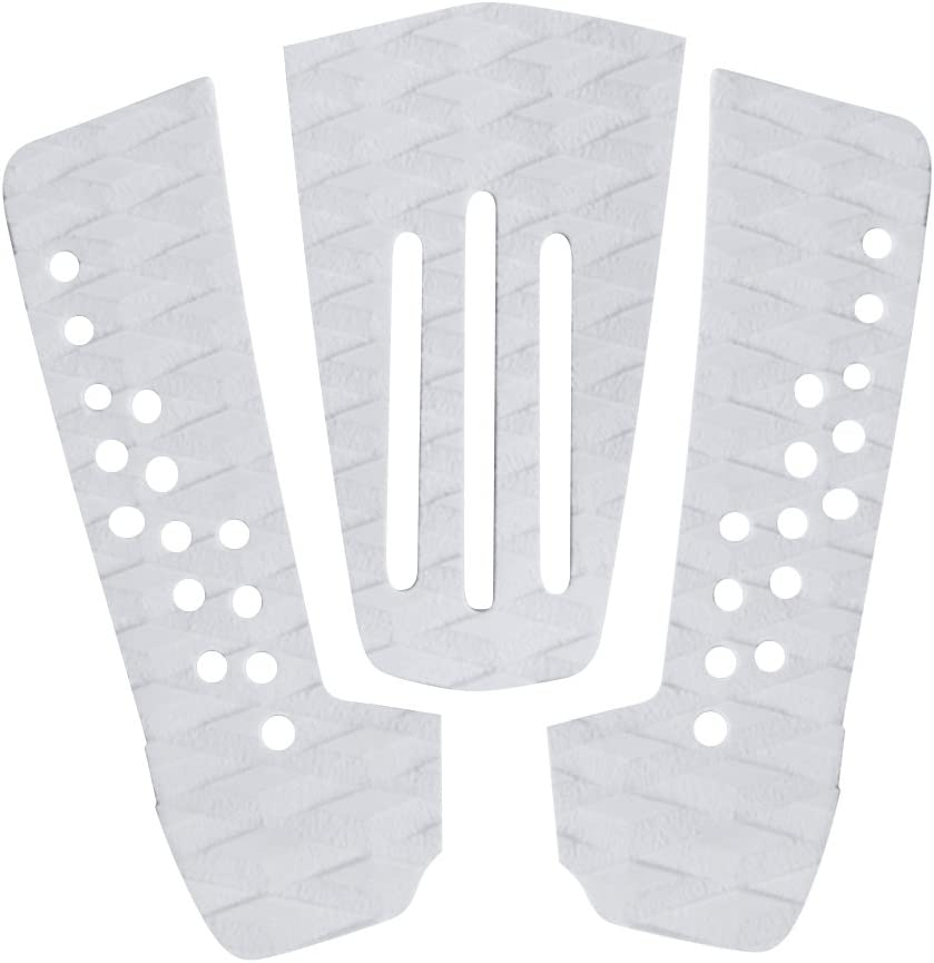 MagiDeal 3 Pieces service Anti-Slip EVA Tail Jacksonville Mall Traction Surfboard Kit Pads