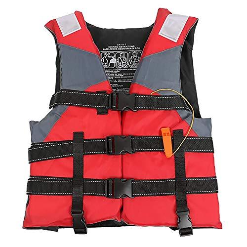 Unisex Life Chaleco 100n Buoyancy EPE Pearl Algodón para Deportes acuáticos Salvo de Buceo (Peso Adecuado 45-100 kg)