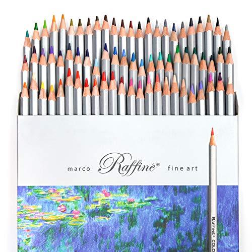 PuTwo Buntstifte, 72 Farbstifte, Zeichenstifte für Skizzen, Buntstifte Set für Malbücher