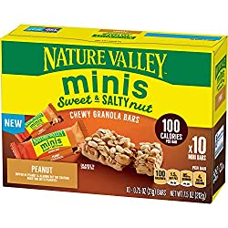 Nature Valley Sweet & Salty Nut Minis, Peanut, 7.5 oz