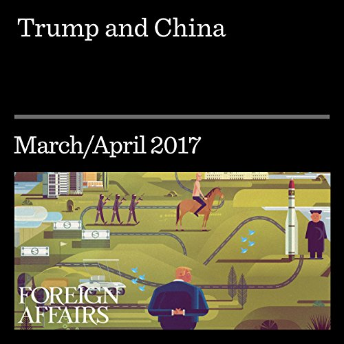 Trump and China audiobook cover art