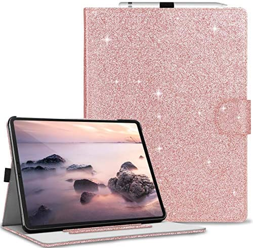 Finigc iPad Pro 12 9 Case 4th Generation 2020 2018 Thin Sparky Case Smart Folio Case Cover with product image