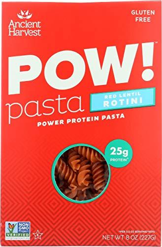 Ancient Harvest, Pow!, Pasta, Red Lentil Rotini, 8 oz