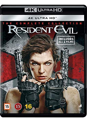The Resident Evil 1-6 Collection - 6-Disc UltraHD Set ( Resident Evil / Resident Evil: Apocalypse / Resident Evil: Extinction / Resident Evil: Afterlife / Resident Evil: Retribution / Reside (Blu-Ray)