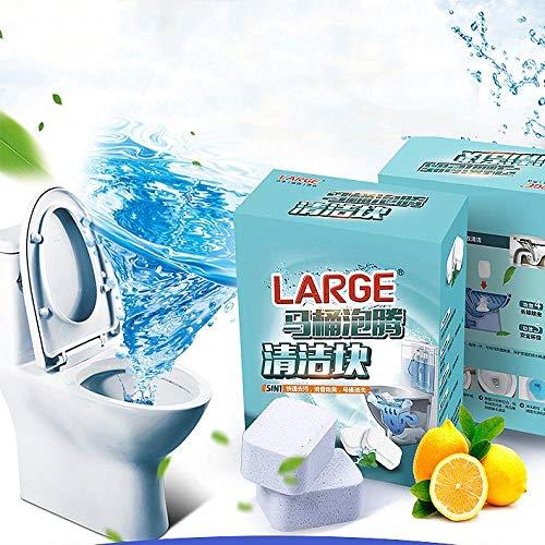 JXLB Limpiador de inodoro   Espuma mágica en polvo para ver la televisión   Reemplaza la tapa del inodoro   Limpiador ideal...