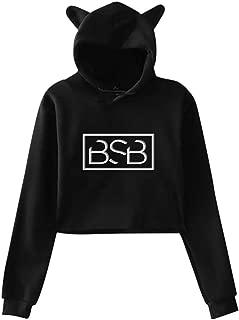 Back Street Boy Hoodie , Backstreet Boys Womans Dew Navel Casual Cat Ear Sweatshirt, Backstreet Boy Hoodie