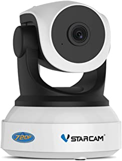 WiFi Security Camera Vstarcam FHD 720P IP Camera, 2 Way Audio and Multi-Users Home Security Monitor, 10M Night Vision, PTZ...