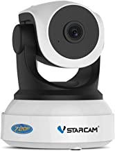 WiFi Security Camera Vstarcam FHD 720P IP Camera, 2 Way Audio and Multi-Users Home Security Monitor, 10M Night Vision, Mot...