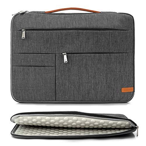 KINGSLONG 17 17,3 Zoll Laptop-Tasche Schutzhülle Handtasche Ultradünne und leichte Notebook-Tragetasche, Herren Damen Holster passend für Acer, Asus, Dell, Lenovo, HP, Toshiba usw.
