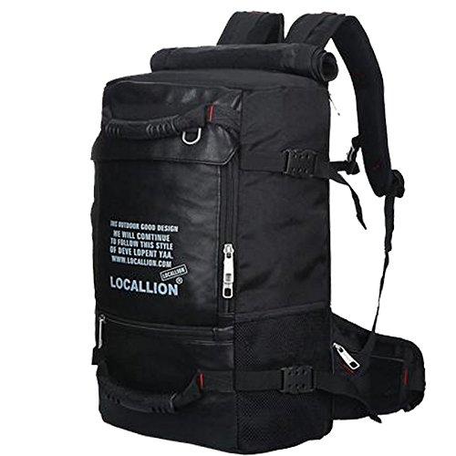 Outdoor escalade hommes sac à bandoulière sac camping randonnée sac de sport double bagage polyvalent 45L