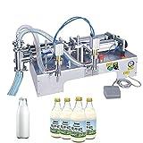 YELLAYBY Máquina de llenado líquido Máquina de llenado de doble cabeza cuantitativa (Filling Capacity : 10 100ml)