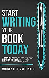 Gifts for authors Start Writing Your Book Today book