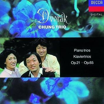 Dvorak: Piano Trios Nos. 1 & 3