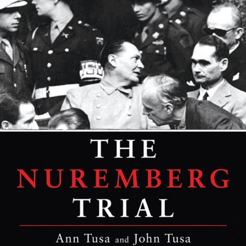 The Nuremberg Trial audiobook cover art