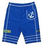 Swimpy - Costume da Bagno a Boxer Nemo, Protezione dai Raggi UV, per Bambini da 1 a 2 Anni, Colore: Blu