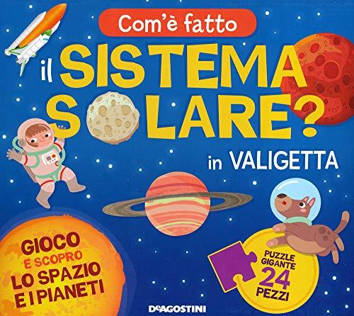 Com'è fatto il sistema solare? Gioco e scopro lo spazio e i pianeti. Ediz. a colori. Con puzzle