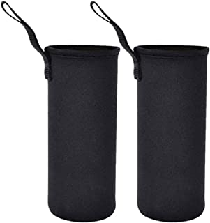 Water Bottle Sleeve Carrier 750ml/25 oz, Protable Insulated Neoprene Water Bottle Cover Tote Bag Case Pouch Holder for Kid...