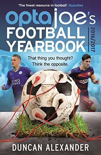 OptaJoe's Football Yearbook 2016: That thing you thought? Think the opposite. (Yearbooks)