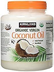 commercial Kirkland Signature 84 bottles of organic coconut oil. Oz. organic coconut oil