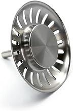 Funihut Juego de 2 Unidades 2pcs 84mm Tap/ón para Fregadero de Cocina tap/ón para Fregadero de Cocina tap/ón de Acero Inoxidable