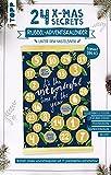 24 X-MAS SECRETS - Rubbel-Adventskalender - Unter dem Mistelzweig: Gestalte deinen Adventskalender mit 24 persönlichen Botschaften! Mit illustriertem ... Inspirationsbuch mit 240 Ideen und Gelstift