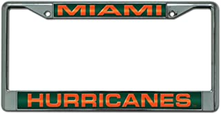 NCAA Laser Chrome Plate Frame