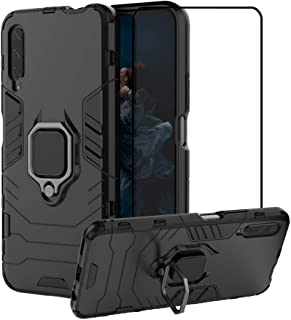 2ndSpring Case for Huawei Y9S/P smart Pro 2019/Honor 9X/9X PRO with Tempered Glass Screen Protector,Hybrid Heavy Duty Prot...