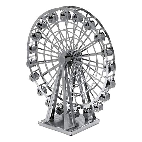 Fascinations Metal Earth MMS044 - 502630, Ferris Wheel, Konstruktionsspielzeug, 2 Metallplatinen, ab 14 Jahren