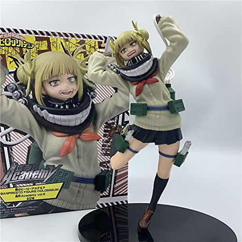 Mi Héroe Academia Himiko Toga Jk Lovely Ver.Figura De Acción De PVC 18Cm, Boku No Hero Academia Age of Heroes Deku Fighter Model Toy