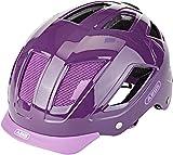 ABUS HYBAN 2.0 Fahrradhelm, Unisex Adulto, Core Purple, M