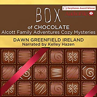 Box of Chocolate: Alcott Family Adventures Cozy Mysteries audiobook cover art