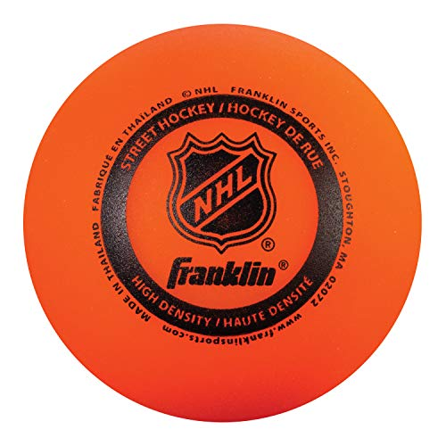 Franklin Sports NHL Street Hockey Ball, 12207, 1 Ball