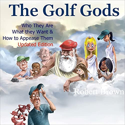 The Golf Gods Audiobook By Robert Brown cover art
