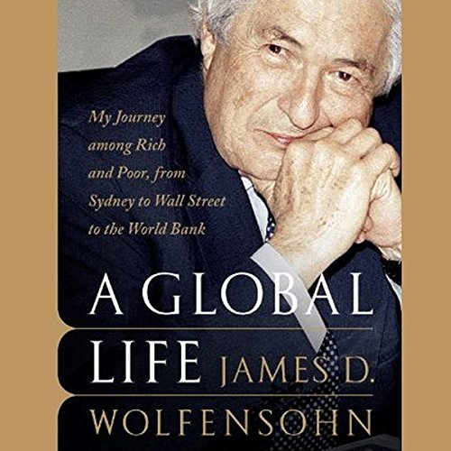 A Global Life audiobook cover art