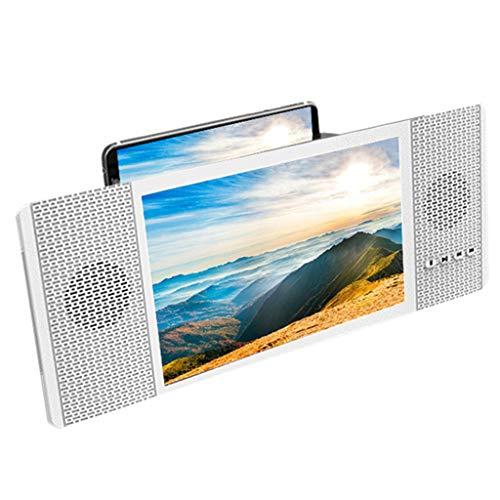 RHSMSS Amplificador de Pantalla con Altavoz, Ampliador de Proyección HD de Teléfono Móvil, El Soporte para Teléfono Celular es Adecuado para Ver Videos en Todos Los Teléfonos Inteligentes.