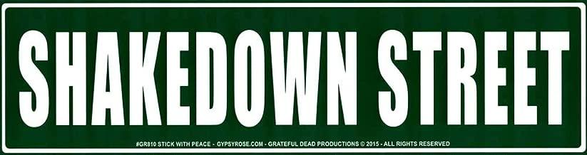 Gypsy Rose Grateful Dead Shakedown Street - Bumper Sticker/Decal (11.5