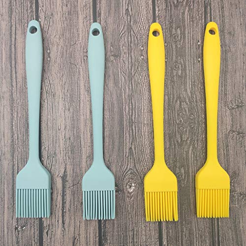 Lzrzbh Basting Brushes Basting Brush, Silicone Pastry Baking Brush BBQ Sauce Marinade Meat Glazing Oil Brush Silicone Honey Oil Bottle Vinegar Pump Pastry Brush