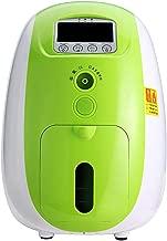 TTLIFE Portable O2 Generator Machine 1-5L/min Home Travel Air Purifier Work Silent 110V (Green)