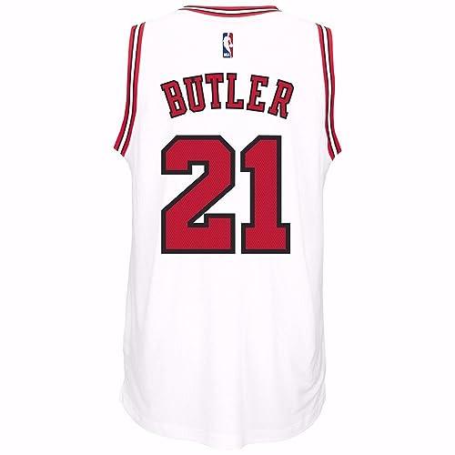 cad3f5530c1 adidas Jimmy Butler Chicago Bulls Swingman White Jersey
