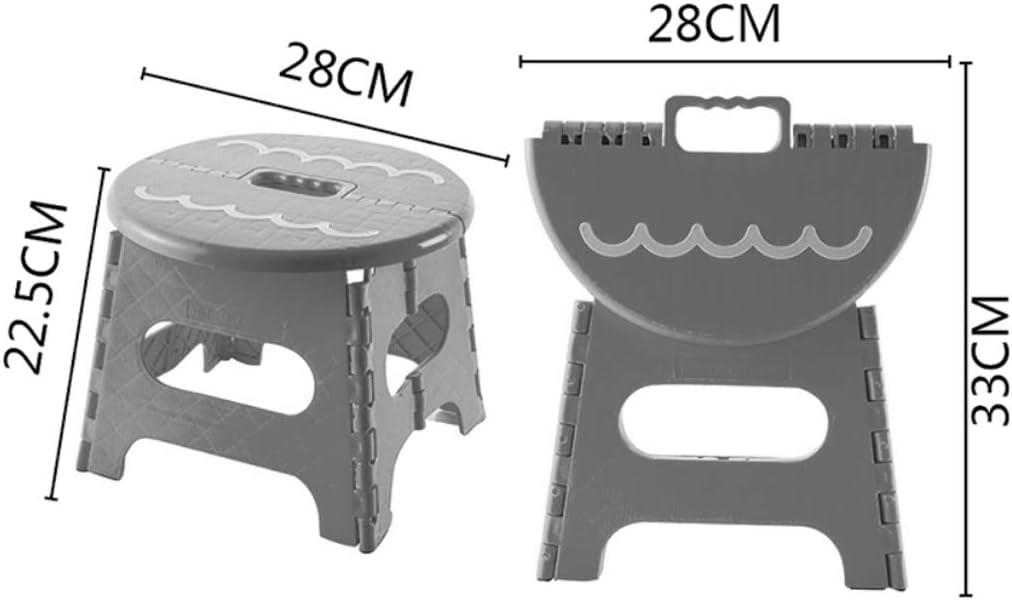 Chaise Artiste Tabourets Pliante Tabouret Pliant en Plastique épais Pliante Portable de Camping HUYP (Color : Blue) Yellow