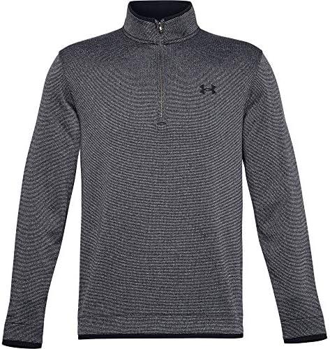Under Armour Men s Storm Snap Fleece 1 2 Zip T Shirt Black 002 Black Large product image