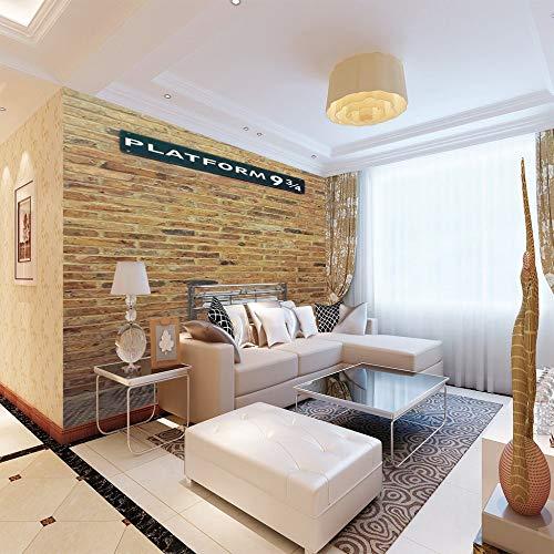3D foto wallpaper Platform Muursticker Muursticker Premium Art Print Decor Moderne decoratie voor uw huis 400cm(W) x200cm(H)-8 strisce