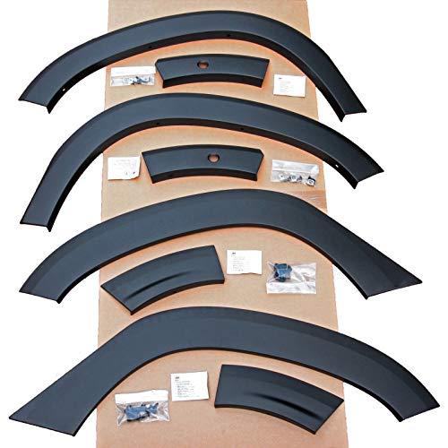 4 x neu original Kotflügel Verbreiterung Radlauf Schutz für Fahrzeuge MIT Totwinkelasistent
