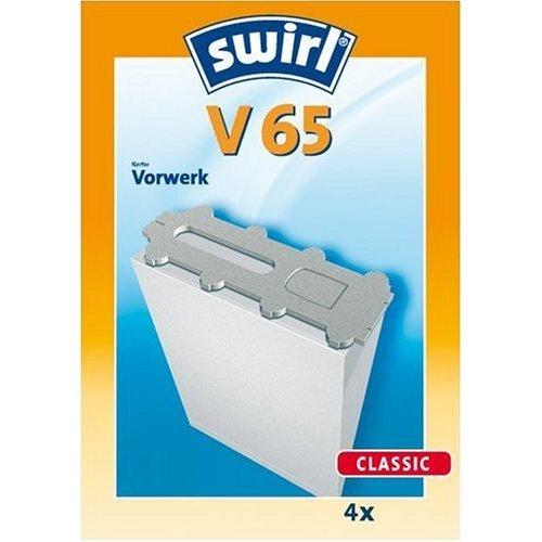 Swirl V 65 original - Sparangebot: 4 Premium Papier Staubsaugerbeutel
