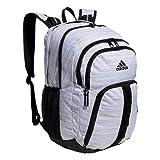 Best adidas Baseball Backpacks - adidas Unisex-Adult Prime 6 Backpack, Two Tone White/Black Review