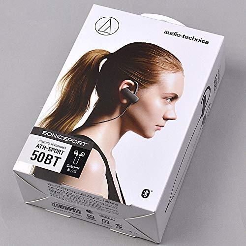 オーディオテクニカ Bluetooth対応 スポーツワイヤレスイヤホン(グラファイトブラック)audio-technica AT...