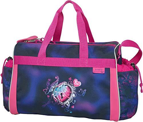 Lovely - McNeill Schulsporttasche Sporttasche Schwimmtasche mit NASSFACH Freizeittasche Kindertasche