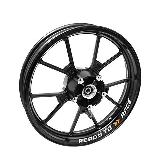 para KTM Canvas 200 390 690 1090 1190 1290 RC8 Motocicletas Etiquetas de Rueda Rueda Reflectante Rim Moto Stripe Tape Pegatinas para Moto (Color : A13)